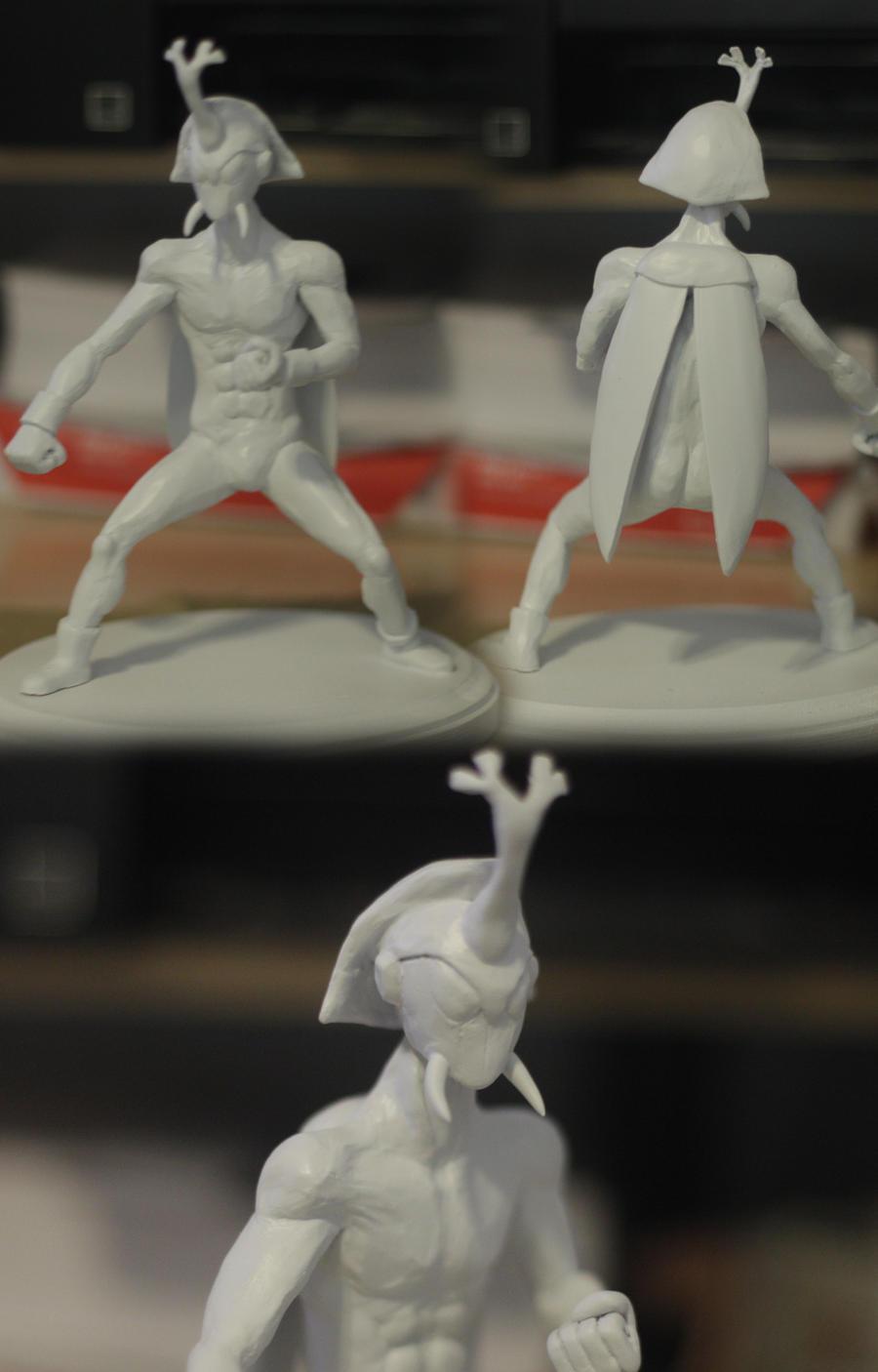 Beetleman Sculpt WIP by Xiff