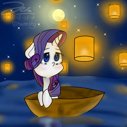 Rarity and the lanterns