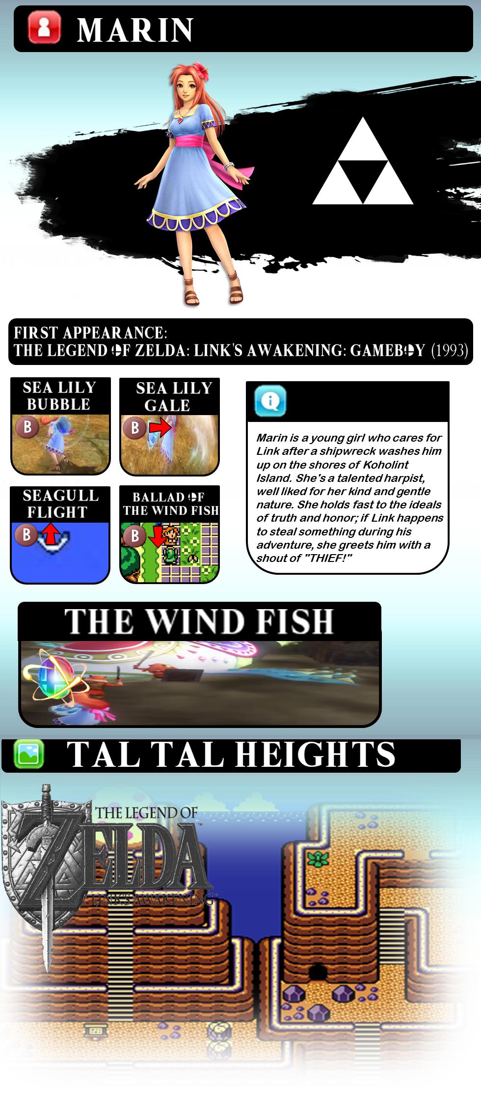 Super Smash Bros Move Set Ideas 002 Marin By Smash Thetic