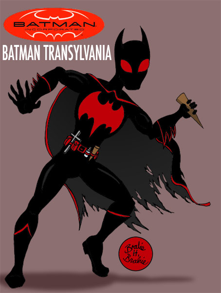Batman Inc:Batman Transylvania by brodiehbrockie