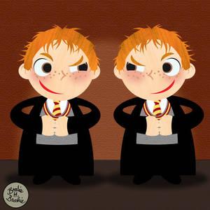 Vector Potter 7: Weasley twins
