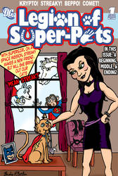DC Fifty Too: Legion of Super Pets by brodiehbrockie