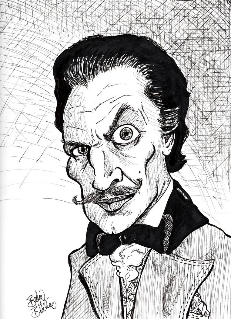 Vincent Price by brodiehbrockie
