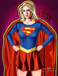 Supergirl by BillHobbs