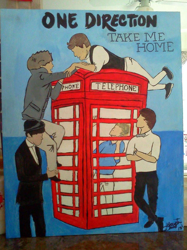 One Direction Pop Art Painting by Kisswithafist17 on ...