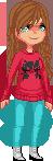 August Pixel Doll by ShadowedForce