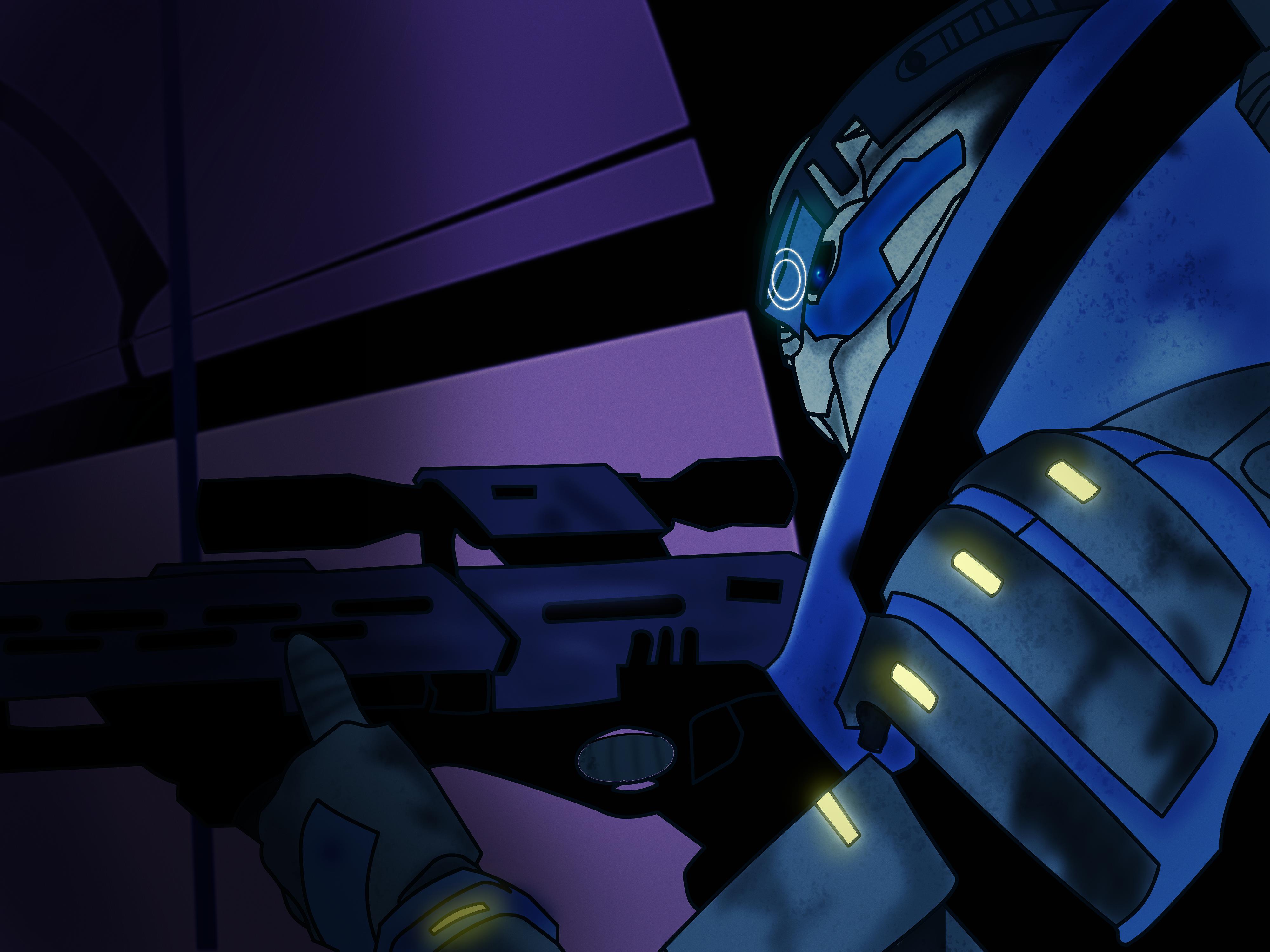 Garrus from Mass Effect by MilleniaValmar