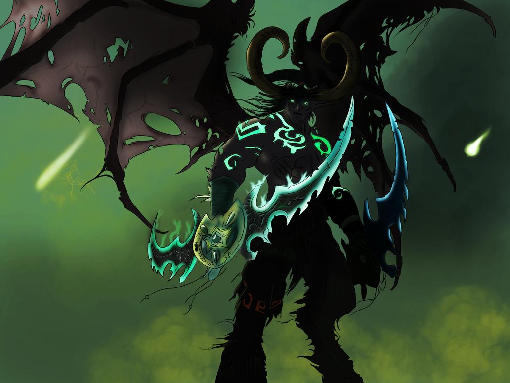 Illidan Stormrage from Warcraft by MilleniaValmar on ...