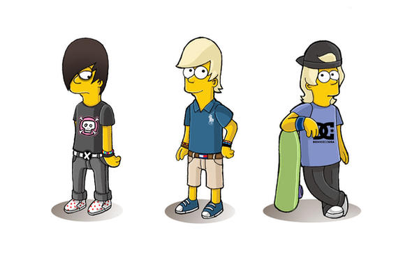 EmO-PoSh-Sk8eR BaRt by xav90 on DeviantArt