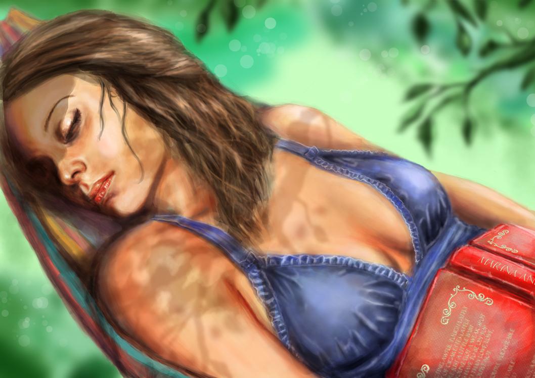Summer Dreaming by isdira