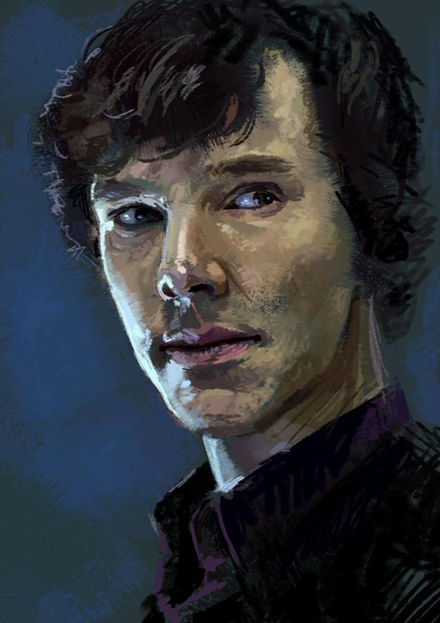 Sherlock by isdira