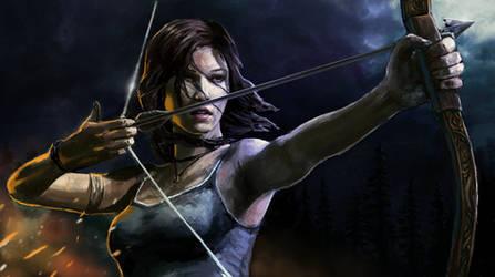 Tomb Raider by isdira
