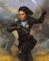 Leading the Attack by isdira