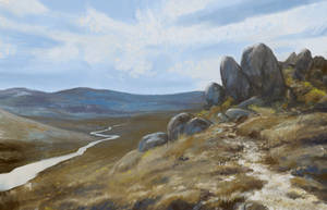 Landscape Study by isdira