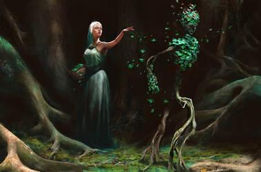 Leaf Whisperer - Artist Avatar Challenge