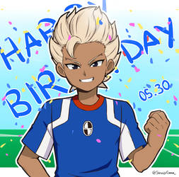 Happy Birthday Gouenji !! by ShuujiChan