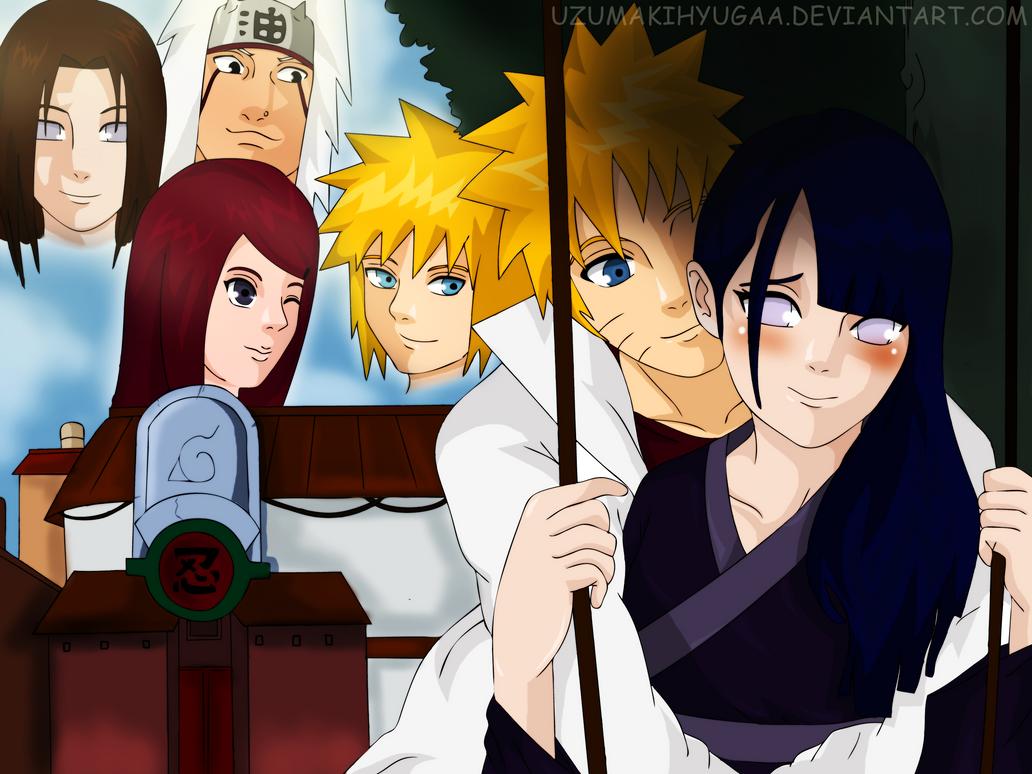 Hokage Naruto And Hinata