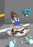 Overwatch: Mei AR by Secretagentmittens