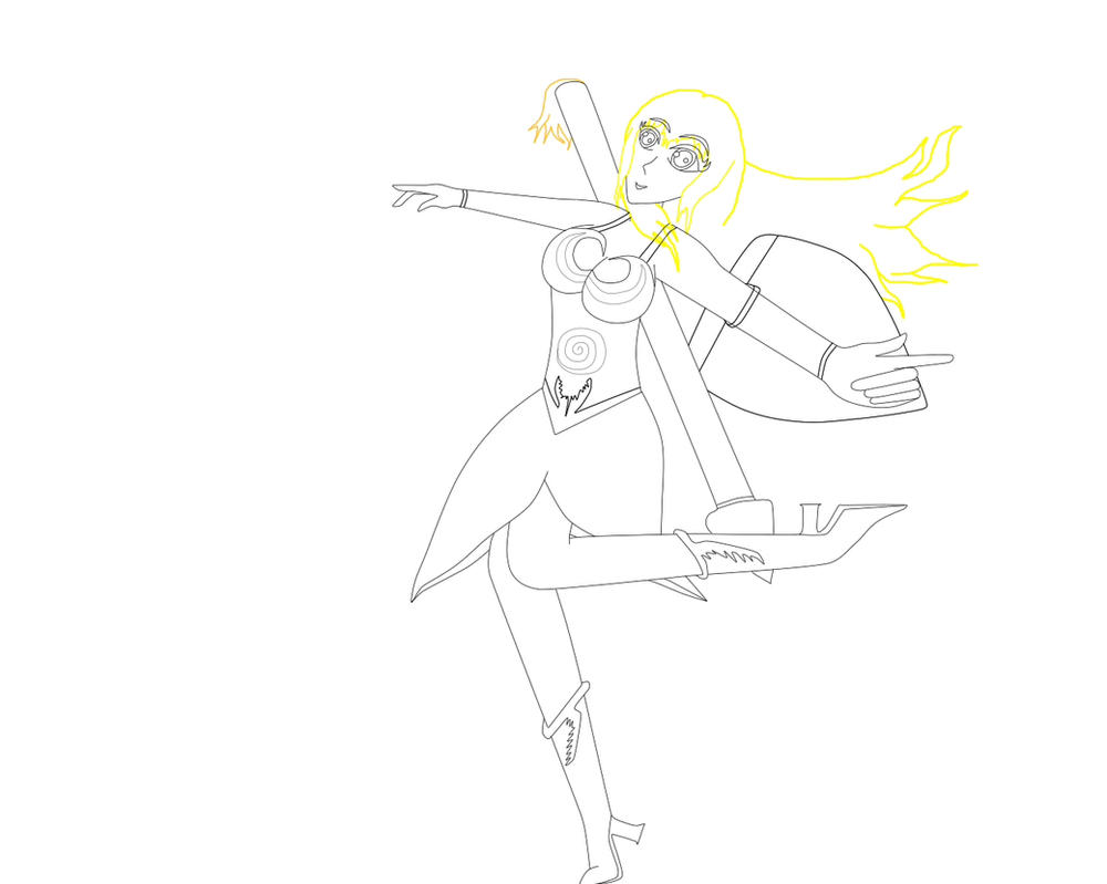 Legendary of Valkyrie, Jennifer Lee (PAD) by JenniferLee1991