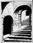 Castle Steps (Castle Rising, England) by ridyumna