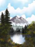 Mystic Mountain by ridyumna