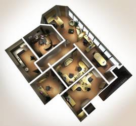 my office floor plan by alxndrdr