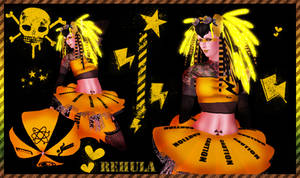 Rehula ElectroShock Cybergoth
