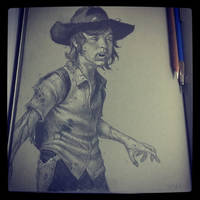 zombie Carl by graphitenightmare