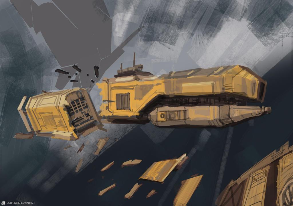 Junkyard Leviathan by ARGHouse