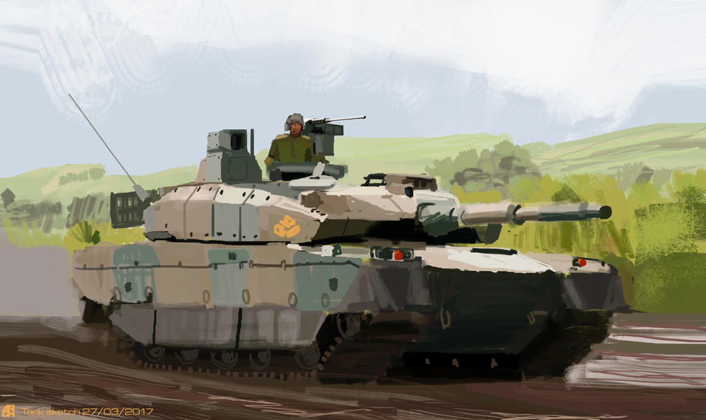 Tank Sketch by ARGHouse