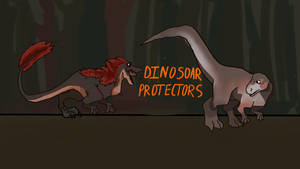 Dinosaur Protectors Banner