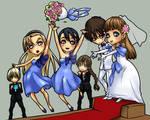 1xR Chibi Wedding by nicoy