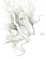 Ent in Forest by subtle-design