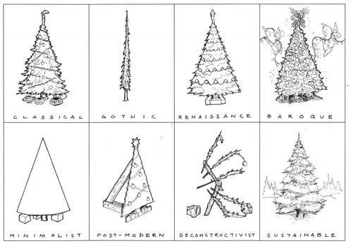 Arch History of the X-mas Tree