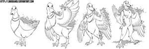 LSC: Duck to Anthro Duck Transformation