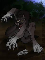 Offstream Commission: Werewolf Transformation pg3 by JakkalWolf