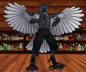 OSC: Hey Birdtender... by JakkalWolf