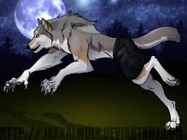 OSC: Lykanos Werewolf Transformation 2 of 2 by JakkalWolf