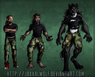 YCH Week 2: Dietereign Werewolf by JakkalWolf