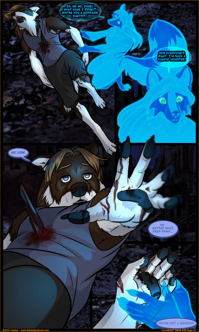 Black Tapestries: Issue 20 Page 47 by JakkalWolf
