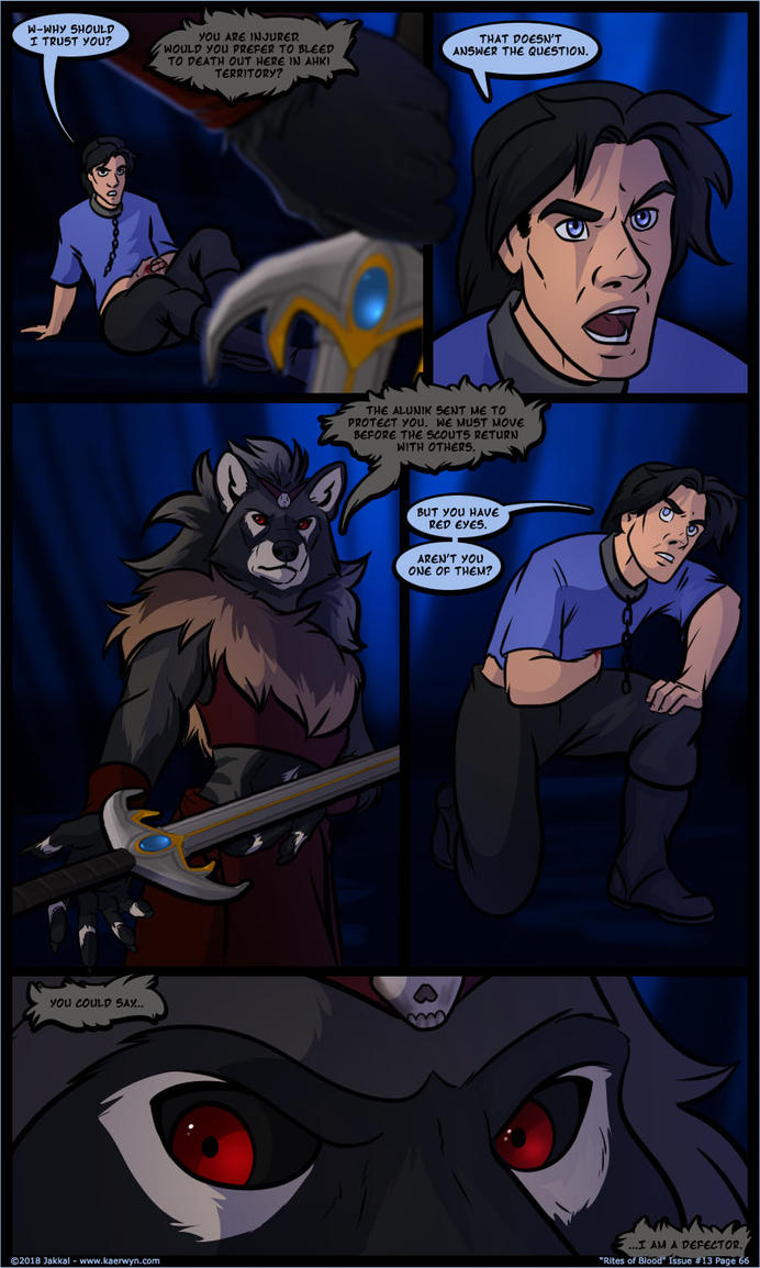 The Realm of Kaerwyn Issue 13 Page 66 by JakkalWolf
