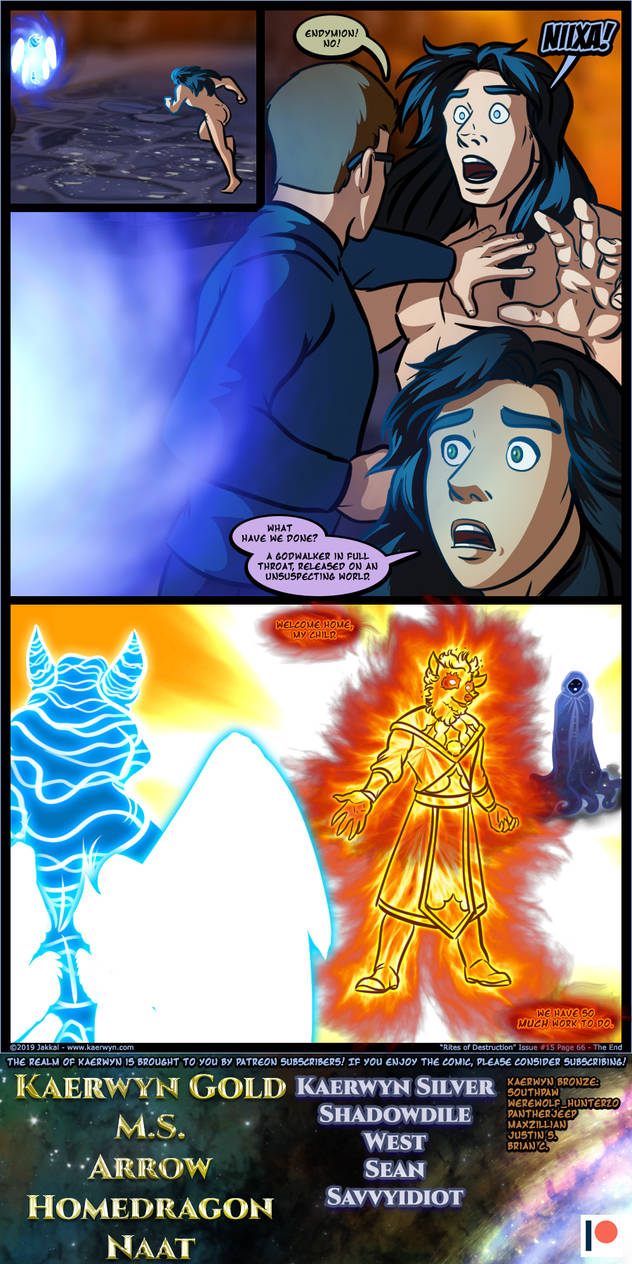 The Realm of Kaerwyn Issue 15 Page 66 - The End