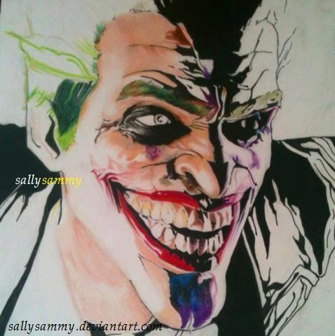 Joker Arkham Origins - WIP by Sallysammy