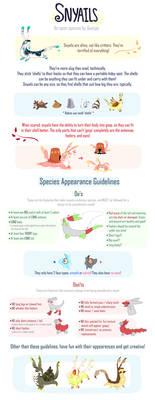 Snyails guidelines (open species)!
