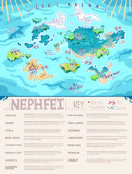 Map of Nephfei (Spinxyn) by Queijac