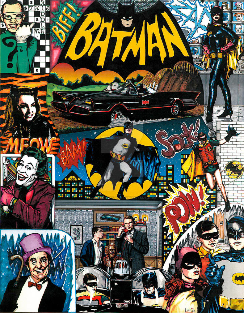 1966 Batman television series by smashortrash