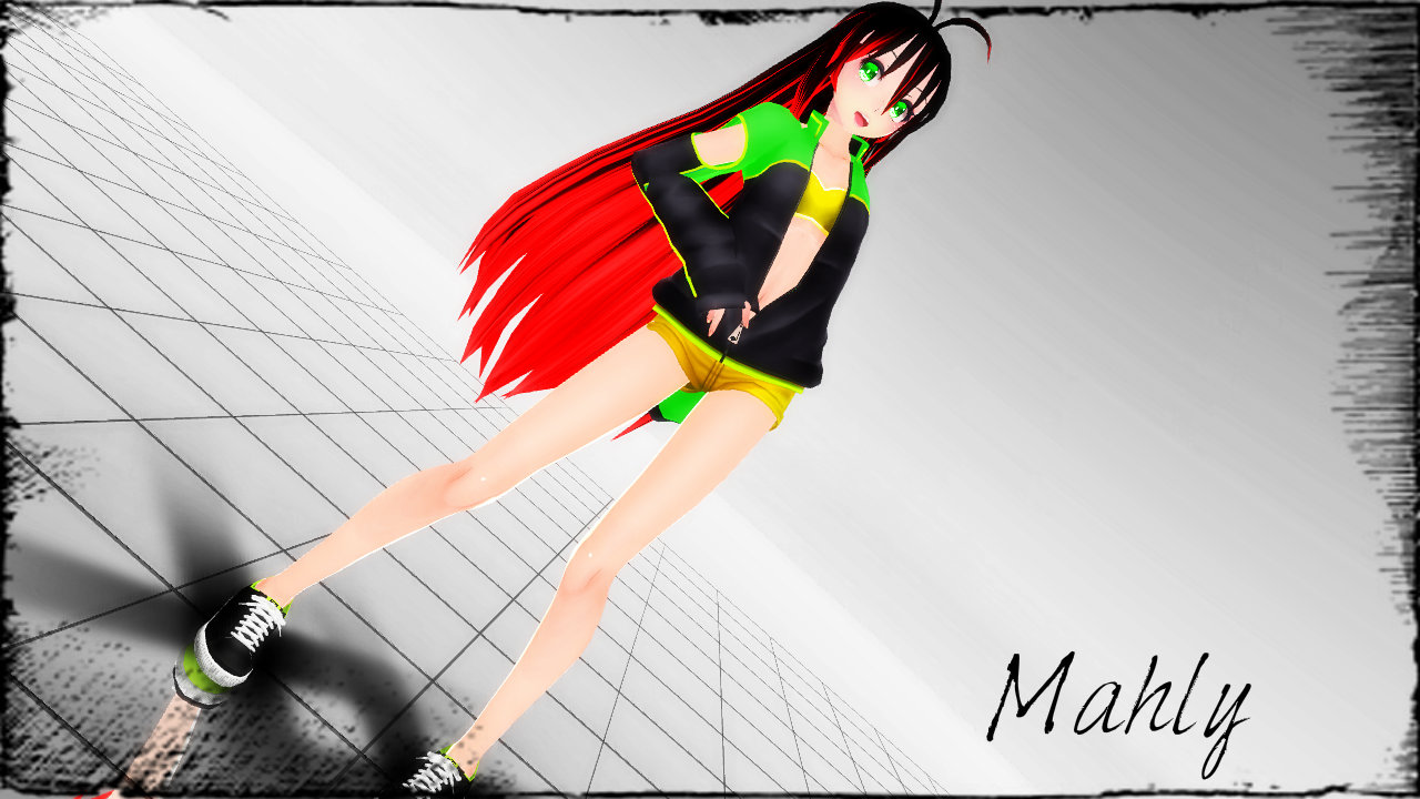 .: Newcomer :. Mahly by Kara-chann