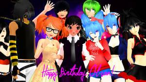.: Happy Birthday, CM-san :. by Kara-chann
