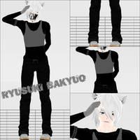 .: Newcomer :. Ryusuki Bakyuo by Kara-chann