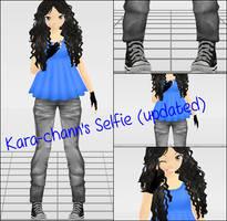 .: Newcomer :. #SELFIE by Kara-chann